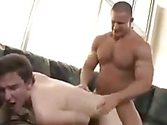 Big Muscle Man Fucks Boy