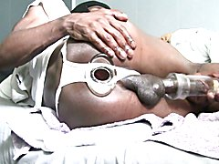 Ass Monkey - Gaping wide open at the back - LARGE buttplug
