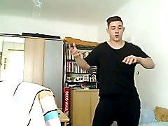 Austrian Gorgeous Boy Sexy Dance On Webcam