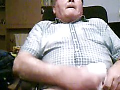 grandpa cum on cam  scene 212