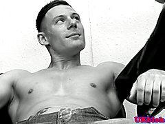 Pornstar Paul Walker pounded by Theo Reid