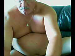 really sexy daddy stroke and cum on cam