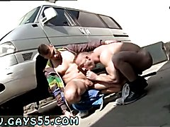 Muscle Man Fucked In The Ass In Public! Nude