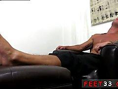 Asian gay videos sperm porn boy alone Dev Worships Jason James' Manly Feet