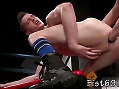Photo old gay man fisting to boy Slim piggy Axel Abysse bends over and teases Matt Wylde