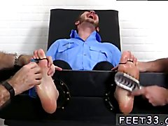 Emo boy elijah foot gay xxx Officer Christian Wilde Tickled