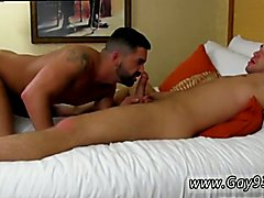Hung gay monster cock blowjob anal movies and gay muscular anal first