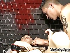 Free emo breeding gay porn xxx Roxy Red wakes up trussed to a table and Ryan Conners