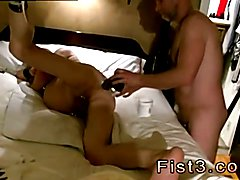 Young gay boy fisted poppers xxx Pig Takes Two Fists In His Hole