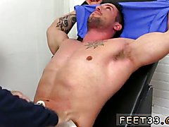 Casey More Jerked & Tickled Men licking other men feet