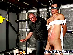 Gay bondage milking with cum The Master Drains The Student