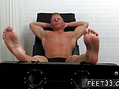 Gay shit on feet Ricky Larkin and Joey helped me out in torturing Johnny's jaw-dropping