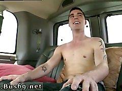 Gay men eating straight cum Trolling the bus stop