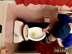 Piss on my brother gay porn first time Unloading In The Toilet Bowl