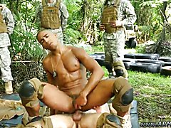 Hoy gay military sex movies and fantastic naked military men first time Jungle pound fest
