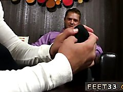 Tyrell's Sexy Feet Worshiped Gay teacher fucks twink