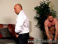 Cum boys anal gay Colleague Butt Banging!