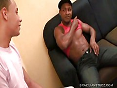 Latinos Pascoal and Adrian Fuck Romulo
