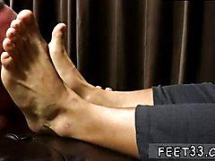 Ebony gay jock feet xxx Tyrell's Sexy Feet Worshiped