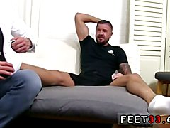 Dolf's Foot Doctor Hugh Hunter Hardcore gay feet fetish
