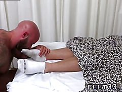 Feet in air gay sex xxx Drake Gets Off On Sleeping Connor's Feet