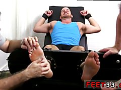 Twink gay fuck feet Chance Cruise Tickle d