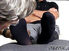 Tommy Makes Tenant Worship His Feet Boy feet real