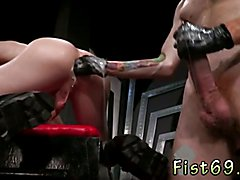 Mature fist movies and gay fisting techniques Slim and slick ginger hunk Seamus O'Reilly