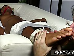 Handsome black male naked playing with himself gay Mikey Tied Up & Worshiped