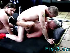 Senior gay men into fist fucking and gay sex old guys fisting Dick Hunter is a crazy