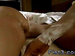 Fisting licking ass boy gay Piggie Tim's Massive Rosebud
