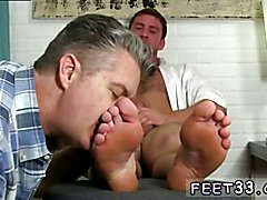 Gay man feet fetish Connor Gets Off Twice Being Worshiped