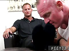 Sexy gay romance hunk muscle boys movies Dev Worships Jason James' Manly Feet