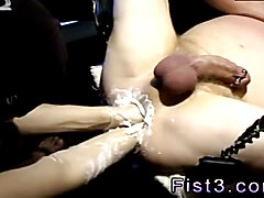 Free gay piss spit and fist porn xxx Testing the Limits of a Pig Hole!