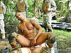Medical military video of nude boys gay xxx Jungle tear up fest