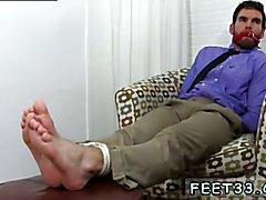 Chase LaChance Tied Up, Gagged & Foot Worshiped Gang