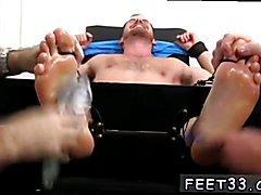 Free gay boy foot fetish videos xxx Chance Cruise Tickle d