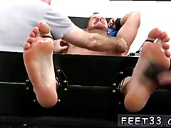 Free gay boy foot fetish videos xxx Chance Cruise Tickle d