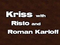 Raw threesome with Kriss