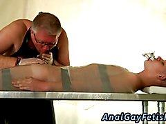 Gay boy tube bondage That should train the boy, or maybe not?