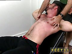 Dolan Wolf Jerked & Tickled Big dick massage gay sex