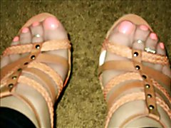 crossdresser in heels and outfits fun