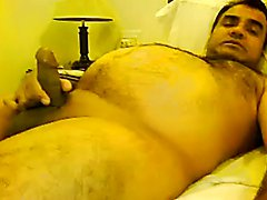 Masturbating Turkey-Turkish Chubby Bear Mustafa