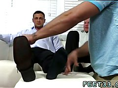 Gay escort with big feet xxx Ricky Worships Johnny & Joey's Feet