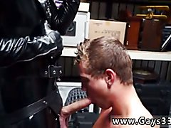 Gay men sucking off straight latino men Dungeon master with a gimp