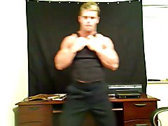 Str8 uniform strip tease