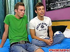 Hot jock pounded his twink gay boyfriends tight ass