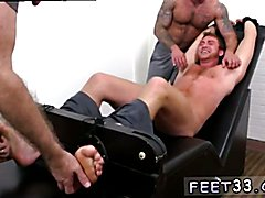 Foot fisting gay twink movie Connor Maguire Jerked & Tickle d