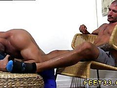 Foot gay porno Johnny Hazzard Stomps Ricky Larkin