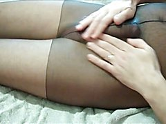 peeing in my pantyhose